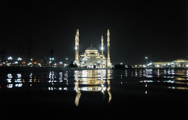 Мечеть в Грозном Чечня