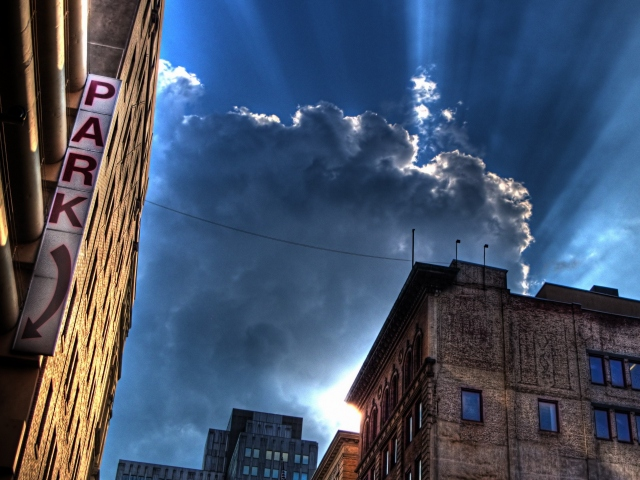 Тучи над городом