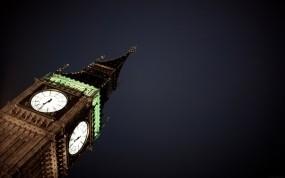 Обои Big Ben Лондон: Ночь, Часы, Лондон, Англия, Big ben, Города