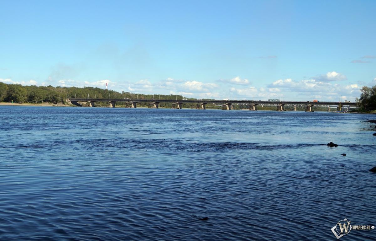 Новокузнецк река Томь 1200x768