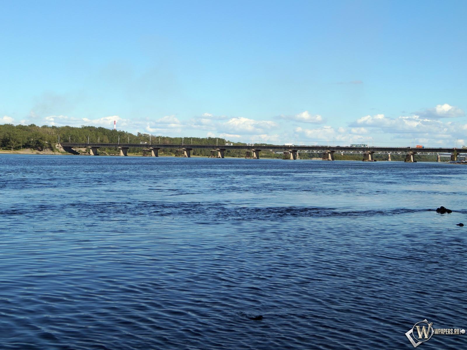 Новокузнецк река Томь 1600x1200