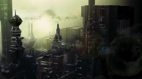 Обои Город будущего: Город, Будущее, 3D Города
