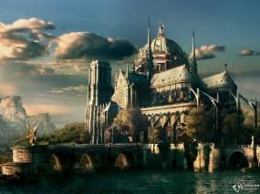 3D Город средневековья
