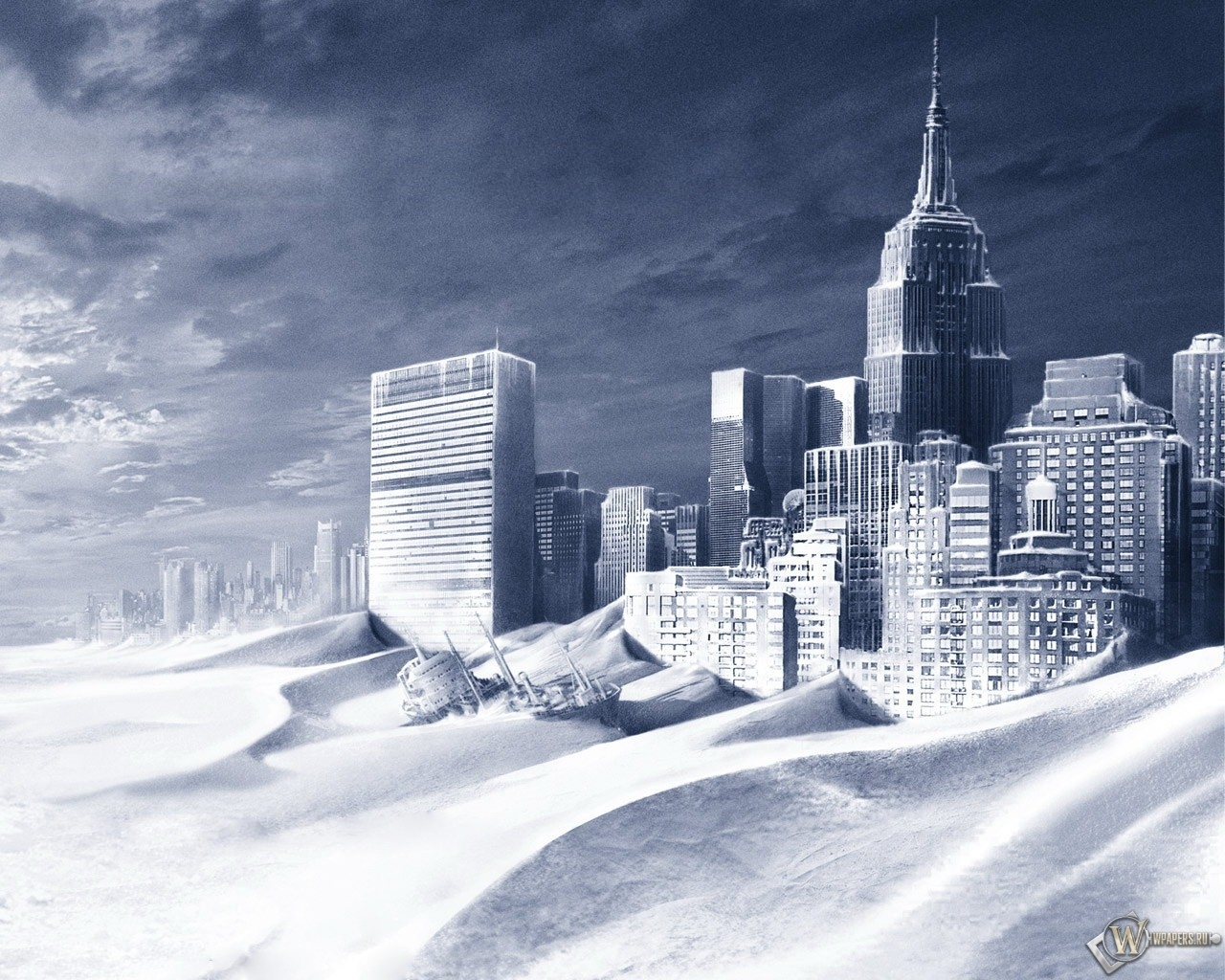 Город песка 1280x1024