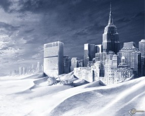 Обои Город песка: Пустыня, Песок, Мегаполис, Песчаная буря, 3D Города