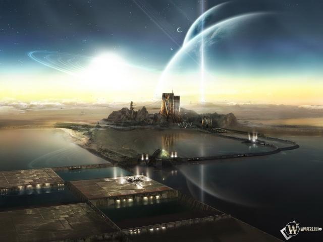 Неземной город