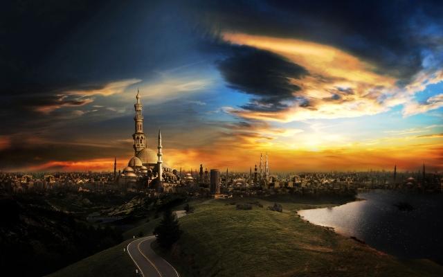 The city of a thousand minaret