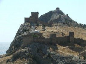 Восточный Крым замок