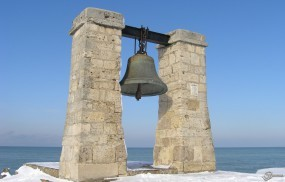 Обои Херсонес колокол крупным планом: , Крым