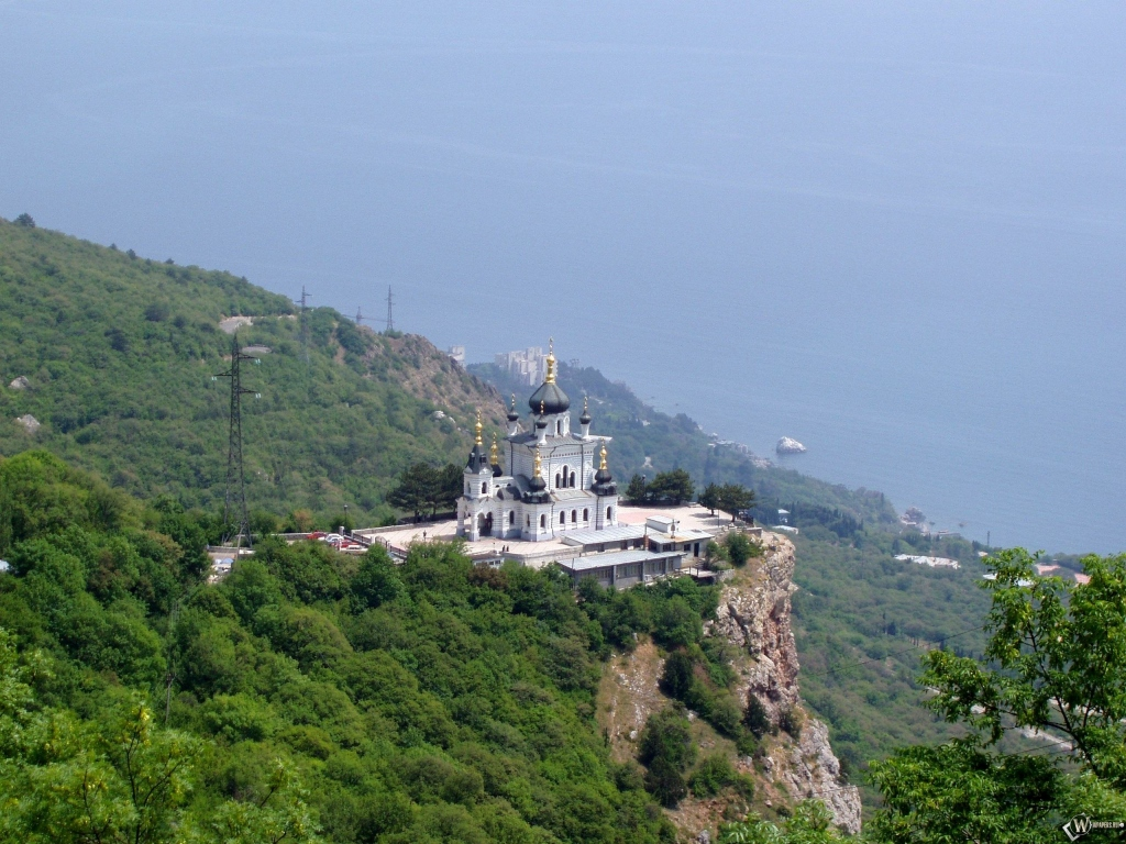 Обои Форосская церковь, Крым. Города foto 19