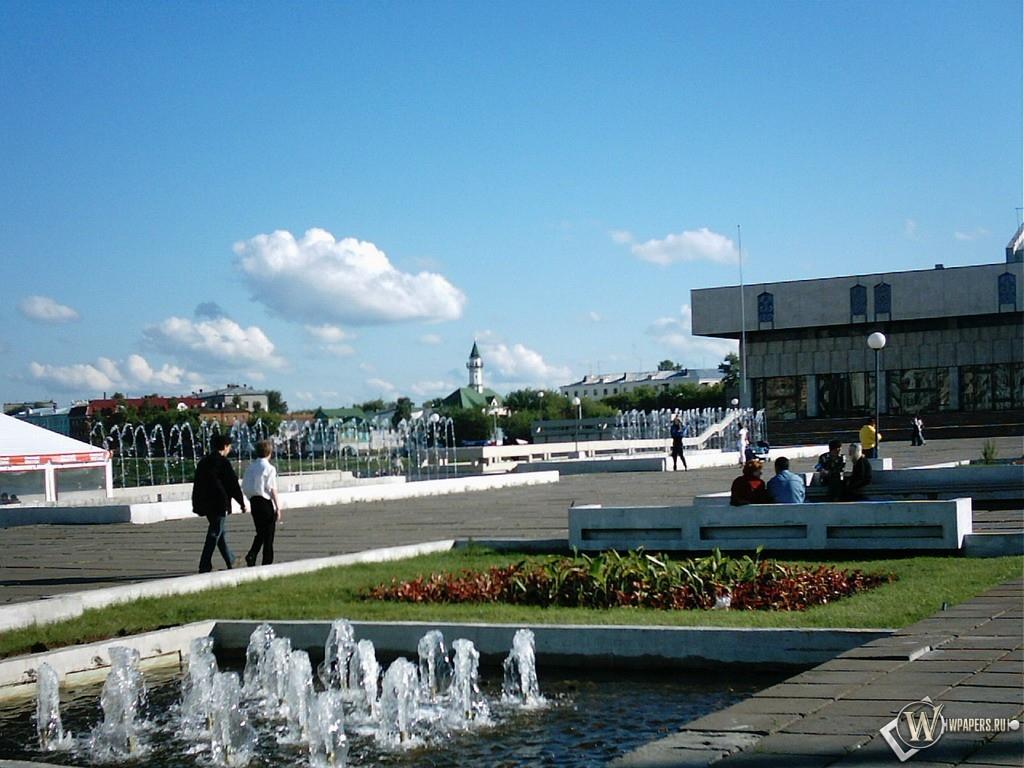 Казань (Сквер Тукая) 1024x768