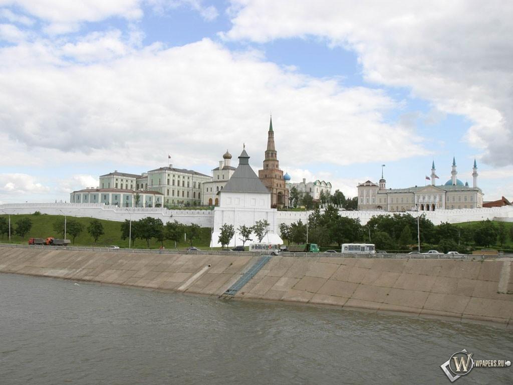 Казанский кремль 1024x768