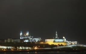 Обои Казанский Кремль: Казань, Ночь, Кремль, Казань