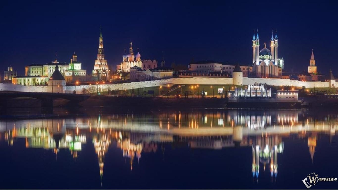 Kazan city 1366x768