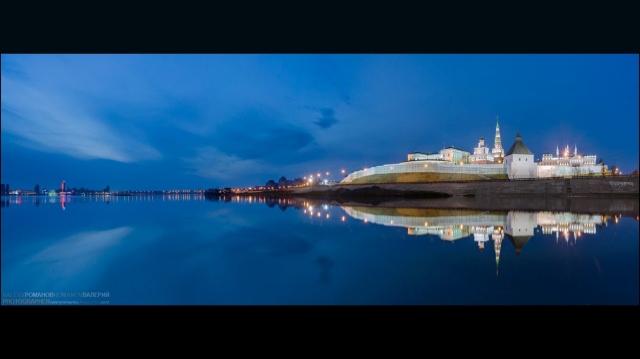 Казань предрассветная
