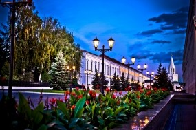 Обои Казань улица Кремлевская: Казань, Кремль, Улица, Казань