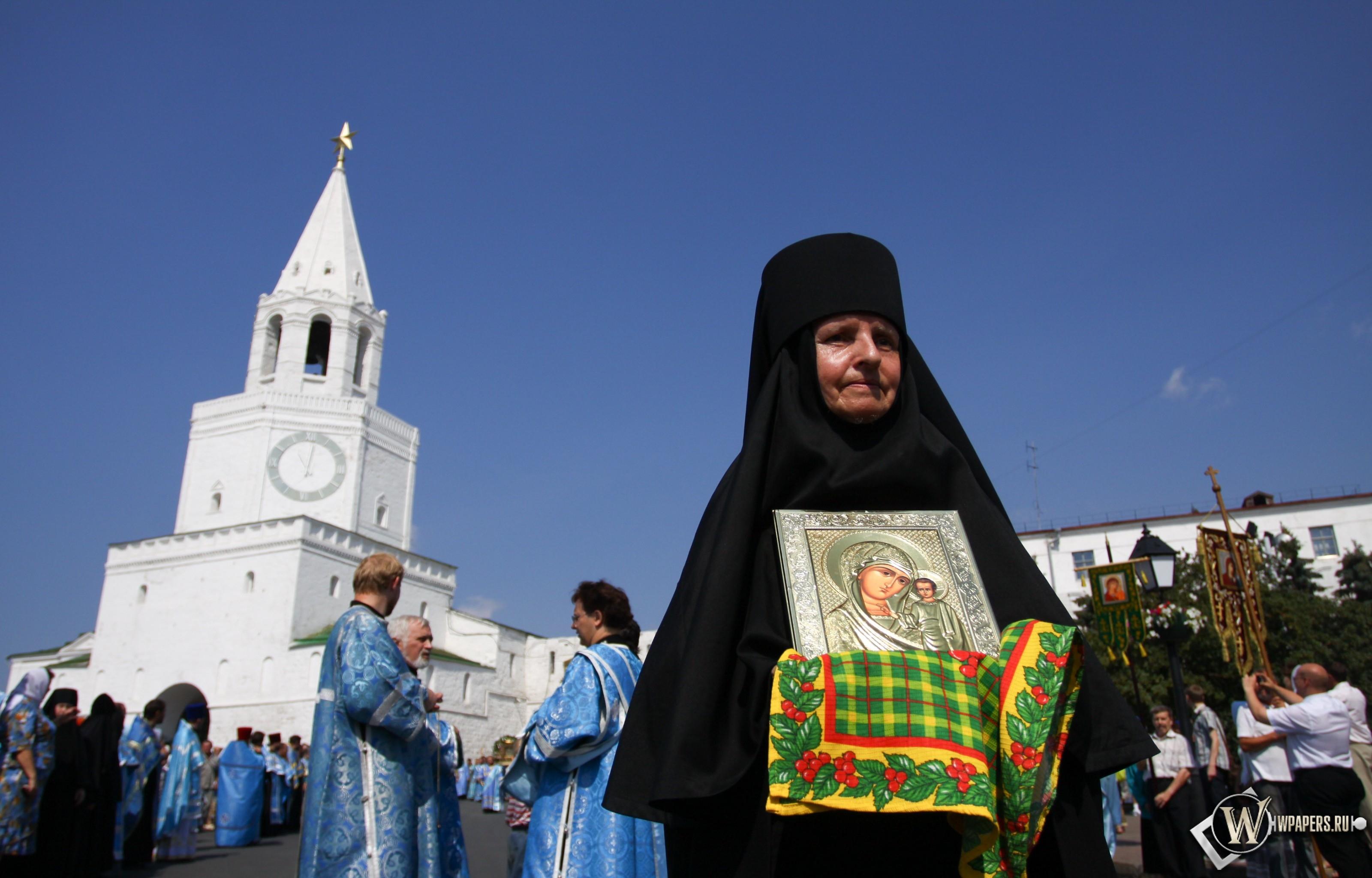 Икона Казанской Божьей Матери 3200x2048