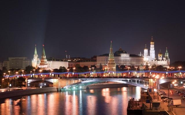 Московский кремль в Новый Год