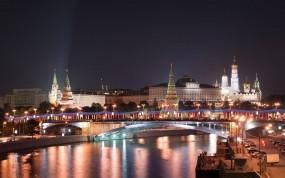Обои Московский кремль в Новый Год: Кремль, Новый год, Москва, Москва