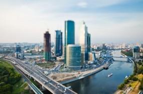 Обои Москва-сити: Река, Город, Москва, Дороги, Москва