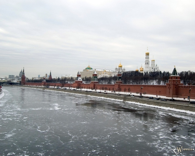 Вид на кремль (Москва)