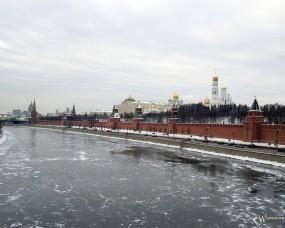 Обои Вид на кремль (Москва): , Москва