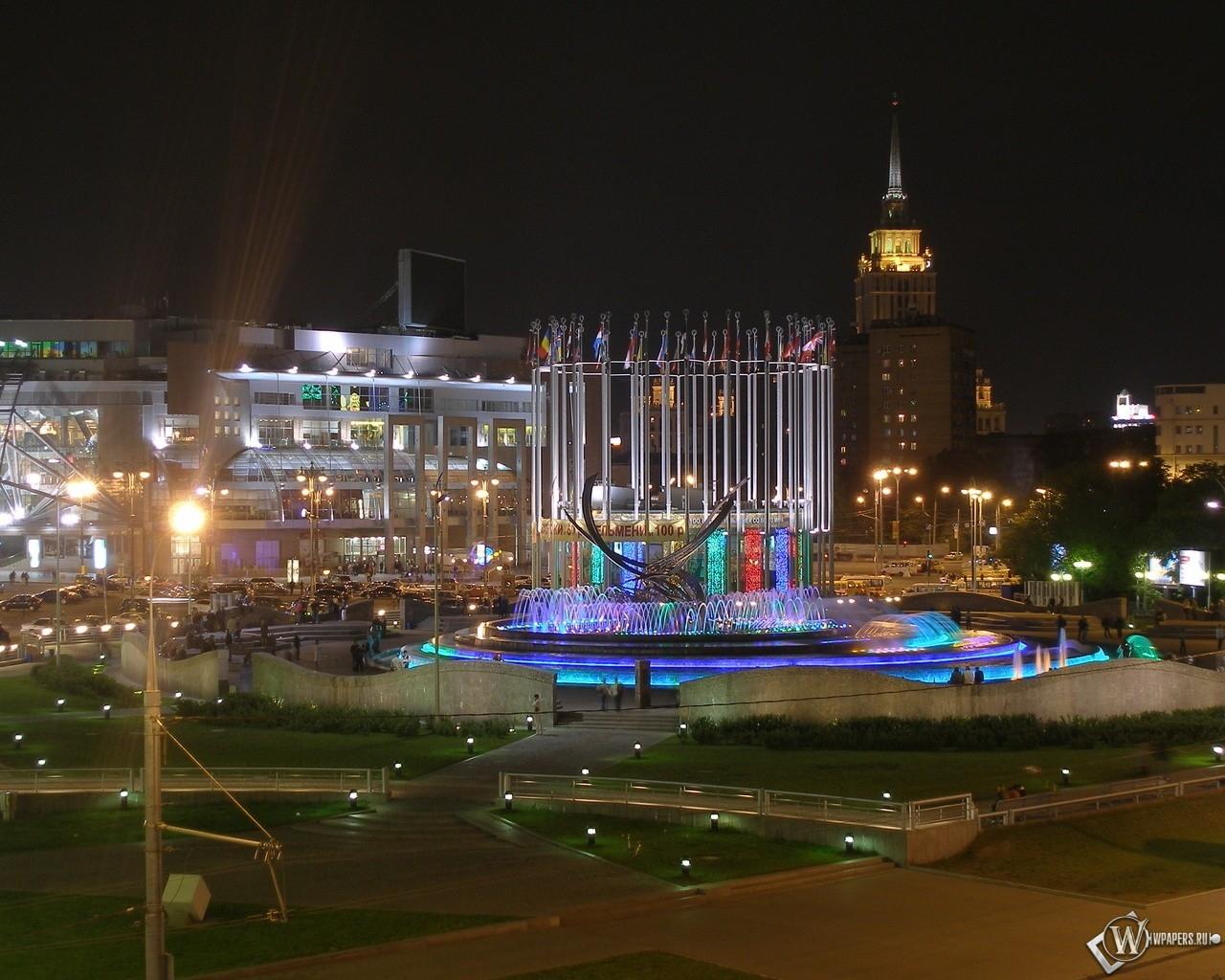 Площадь Европы (Москва) 1280x1024