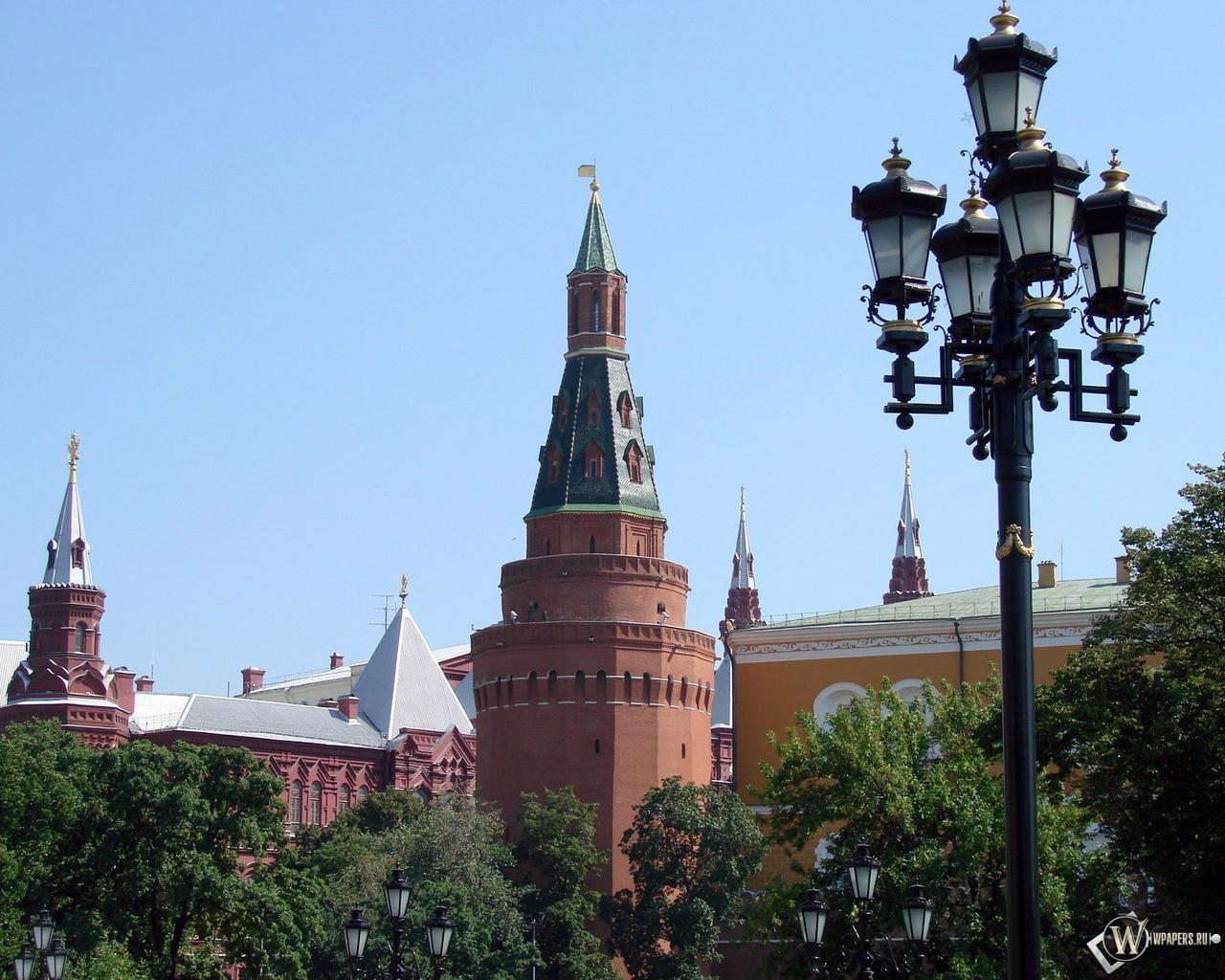 Башни Кремля (Москва) 1280x1024