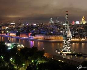 Обои Ночная Москва: , Москва