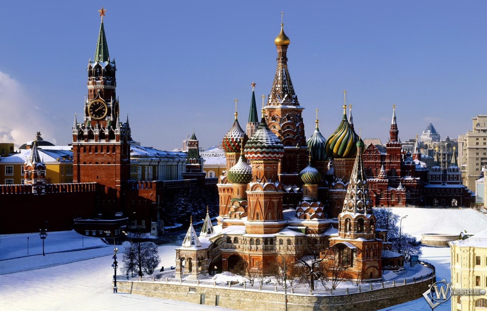 Храм Василия Блаженного (Москва) 1600x1024