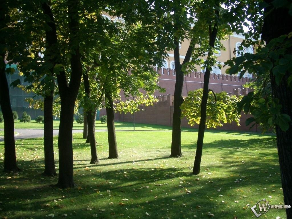 Москва Александровский сад 1024x768