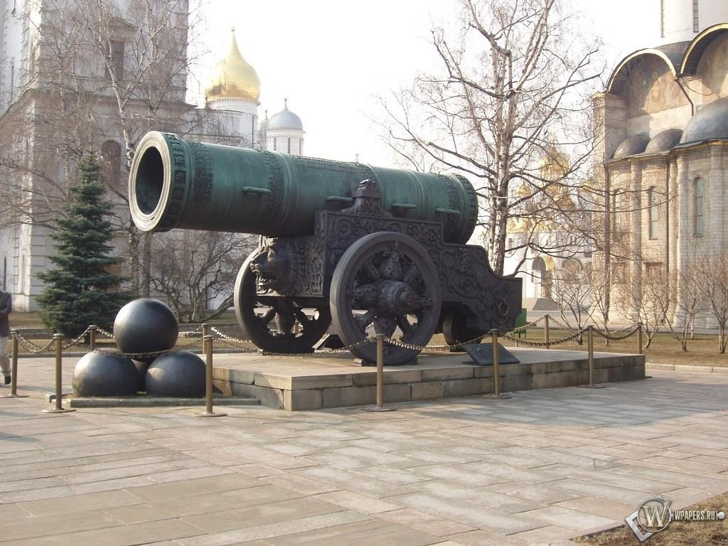 Москва Царь-пушка 1024x768