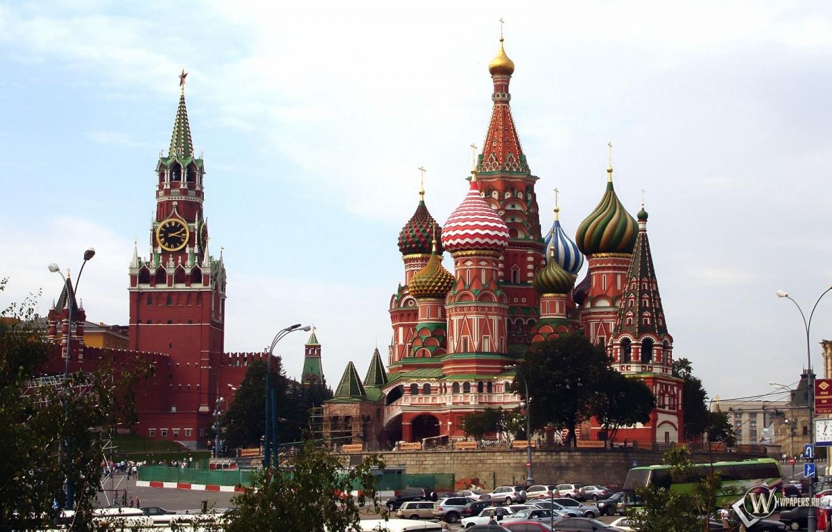 Московский кремль 1200x768