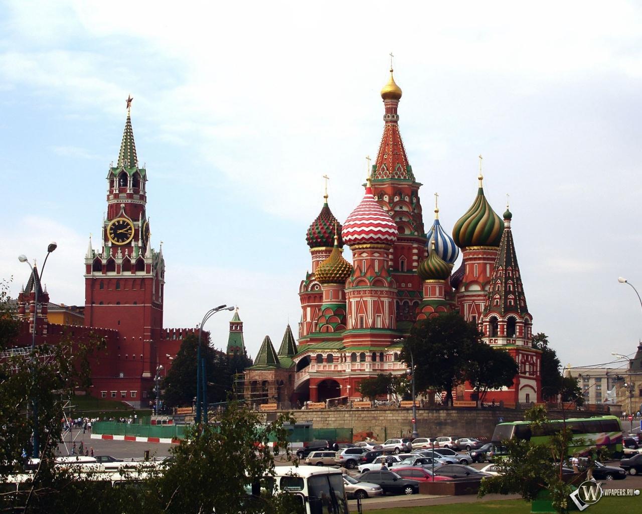 Московский кремль 1280x1024