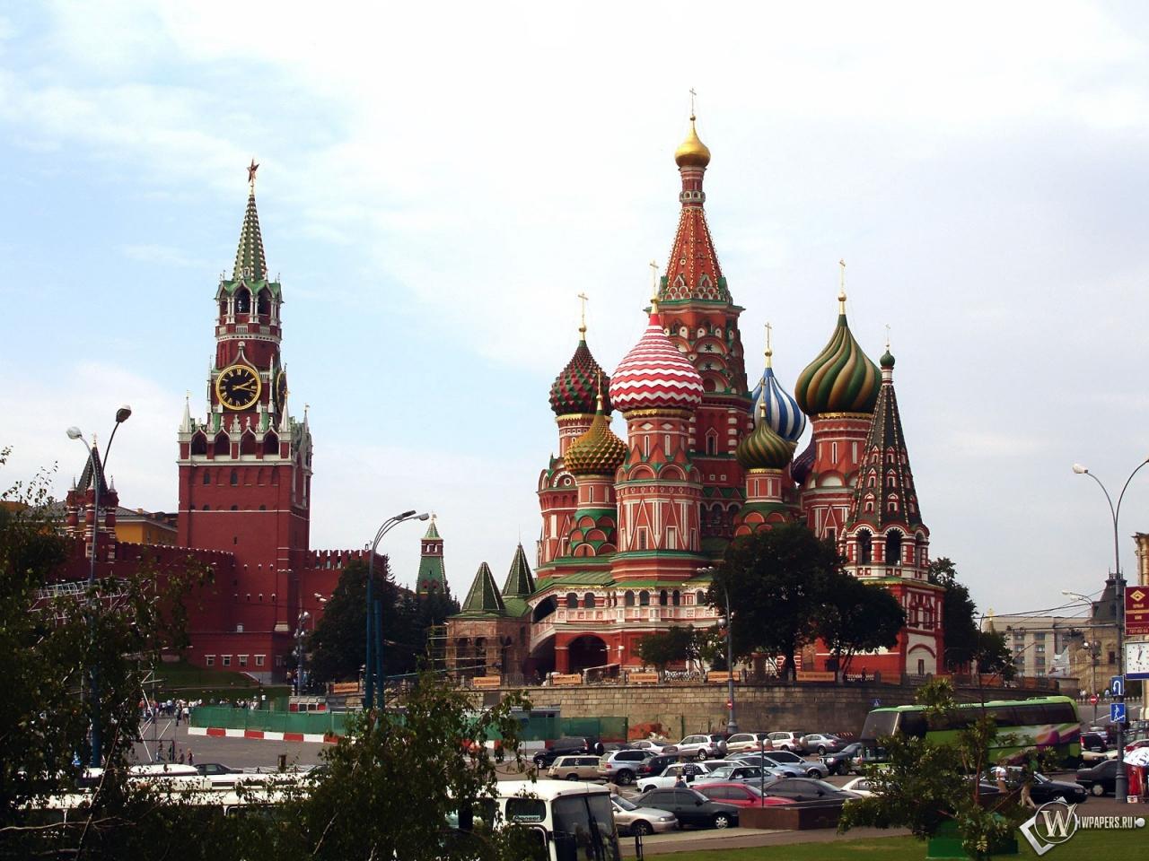 Московский кремль 1280x960