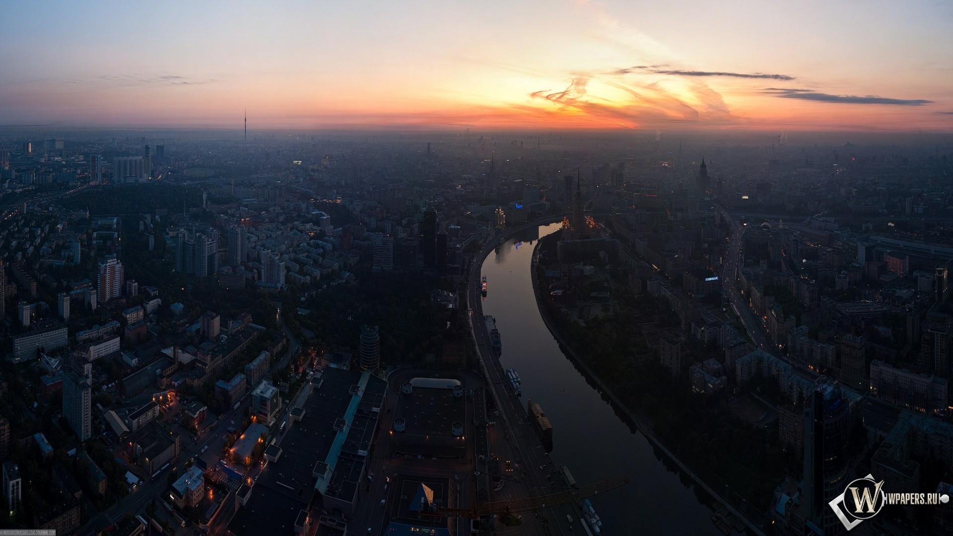 Москва река 1920x1080