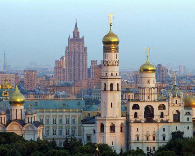 Москва Колокольня Ивана Великого