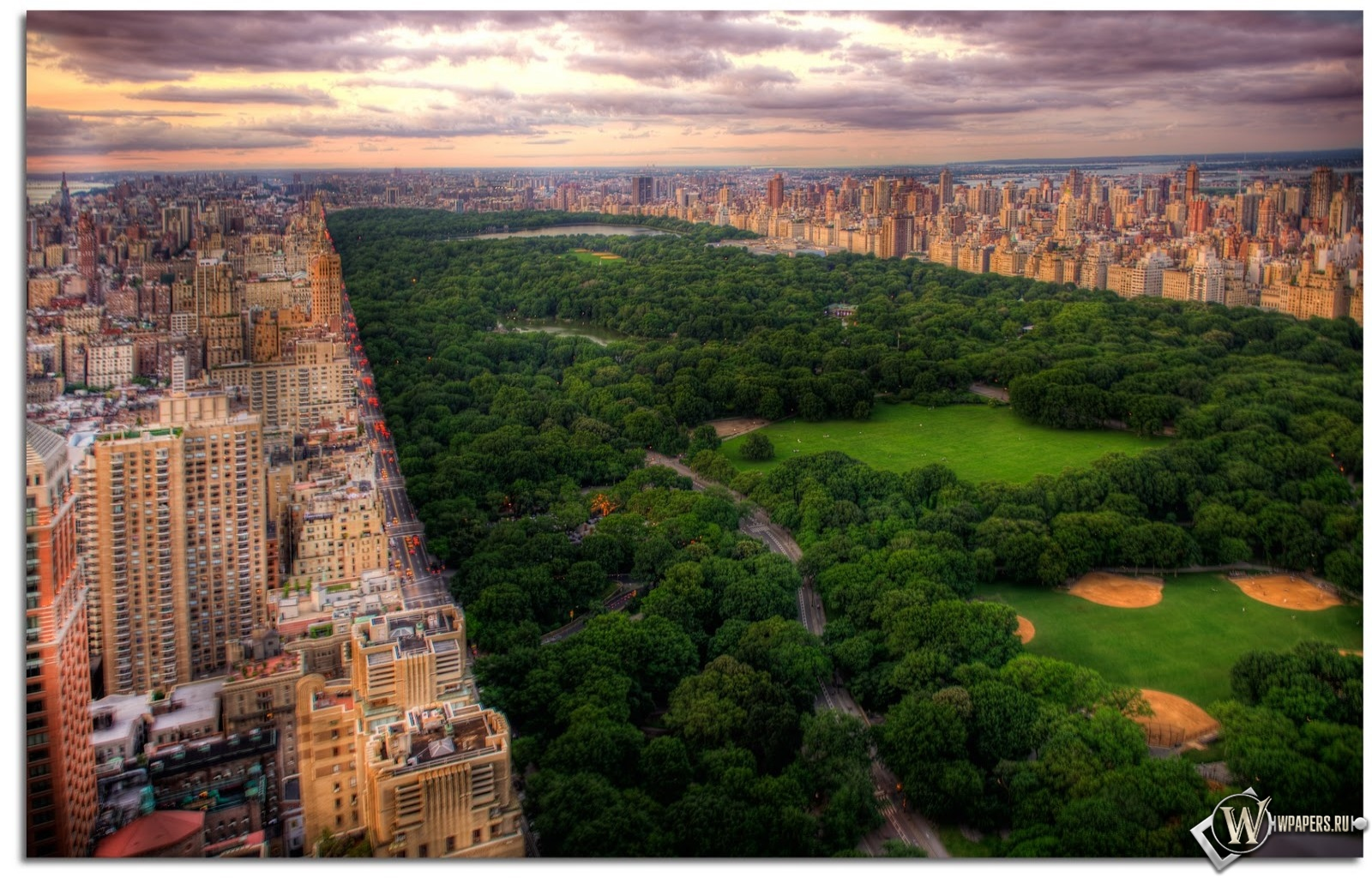 Центральный парк (Нью-Йорк) 1600x1024