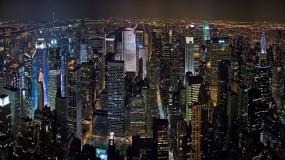 Обои Ночной Нью-Йорк: Город, Ночь, New York