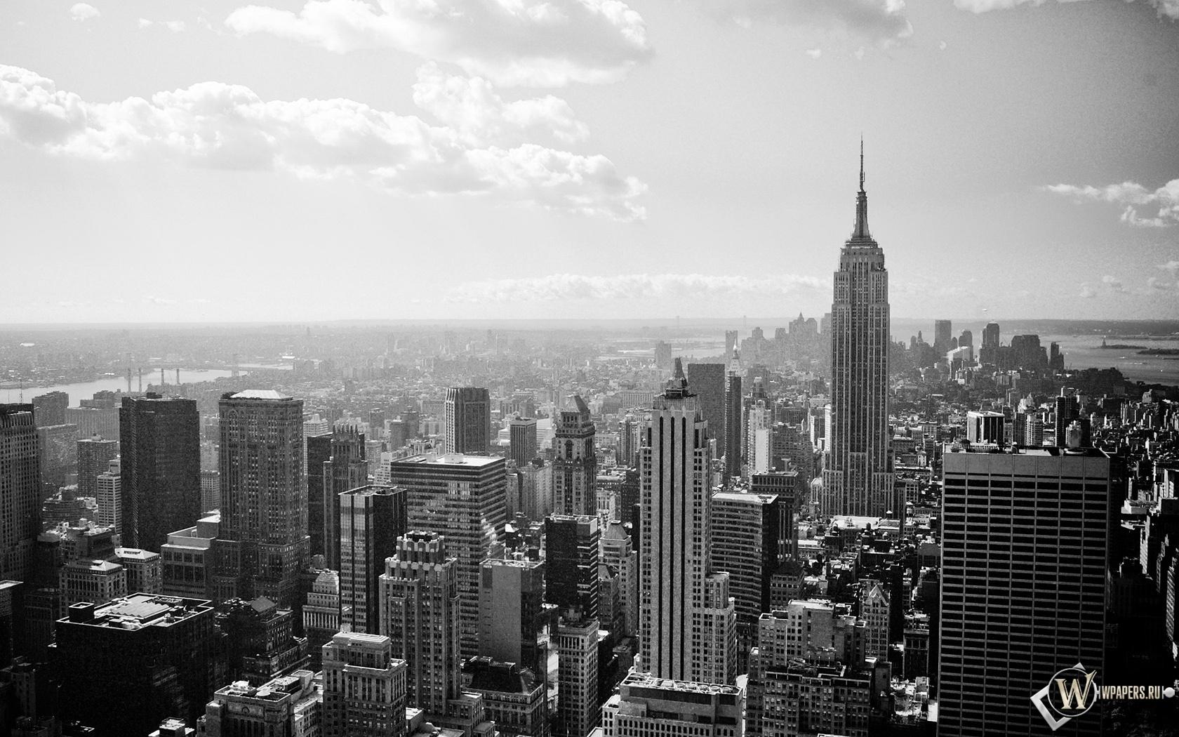 New-York black and white 1680x1050