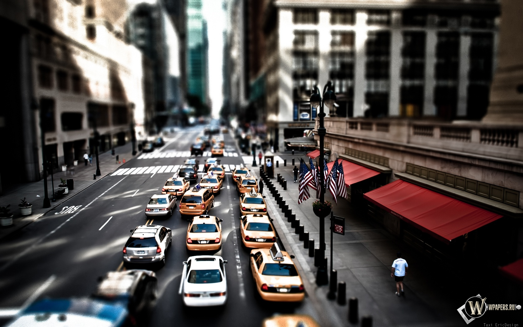 Такси Нью-Йорка 1680x1050