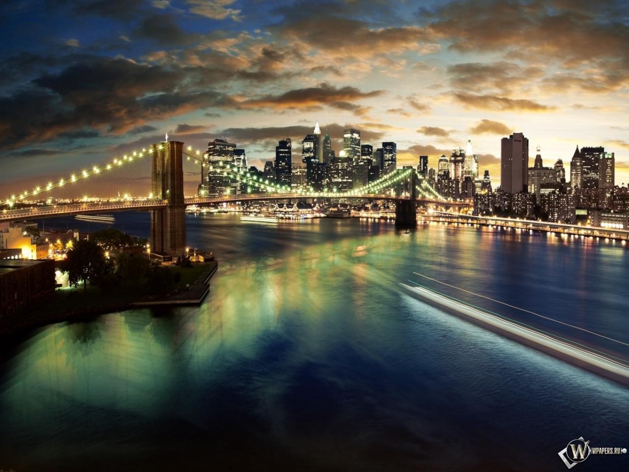Manhattan bridge 1280x960