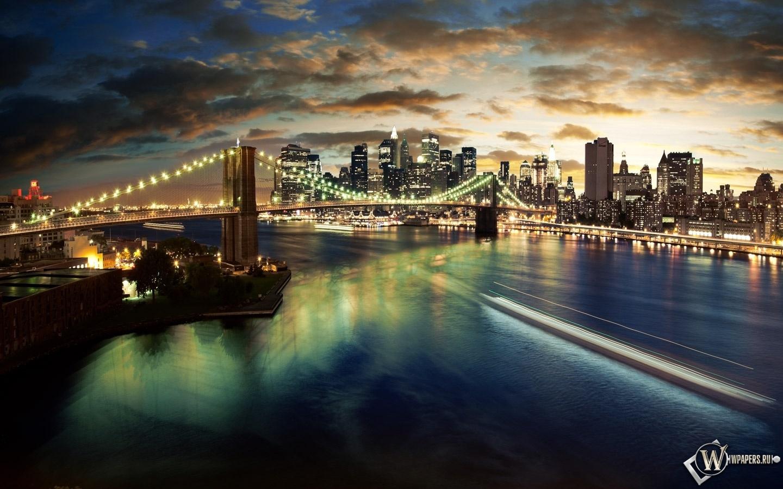 Manhattan bridge 1440x900