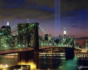 Обои Tribute in Light - New York City: , New York