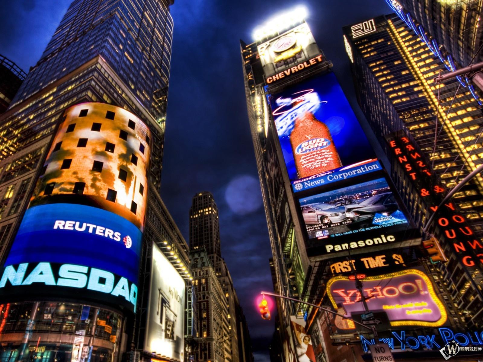 New York NASDAQ 1600x1200