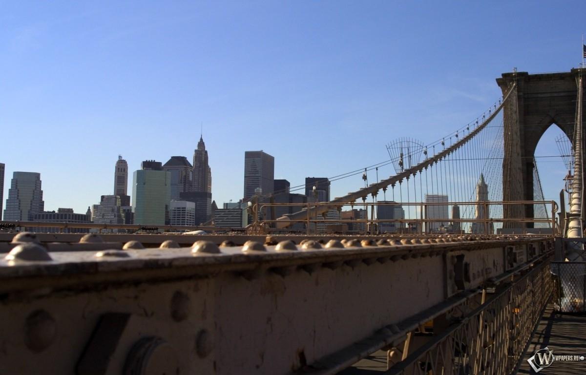 New York мост 1200x768