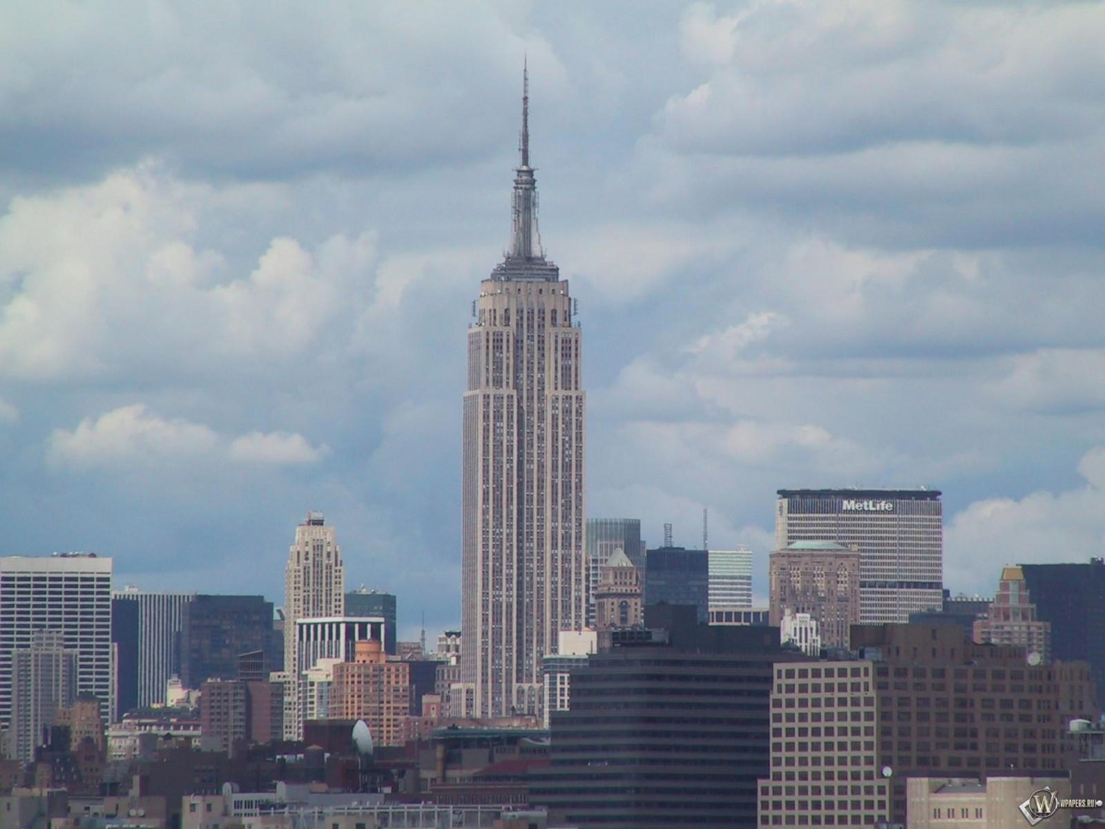 New York - Эмпайр-Стейт-Билдинг 1600x1200