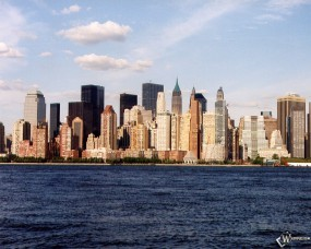Обои New York у воды: , New York