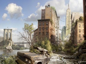 Обои New York Unknown Future: , New York