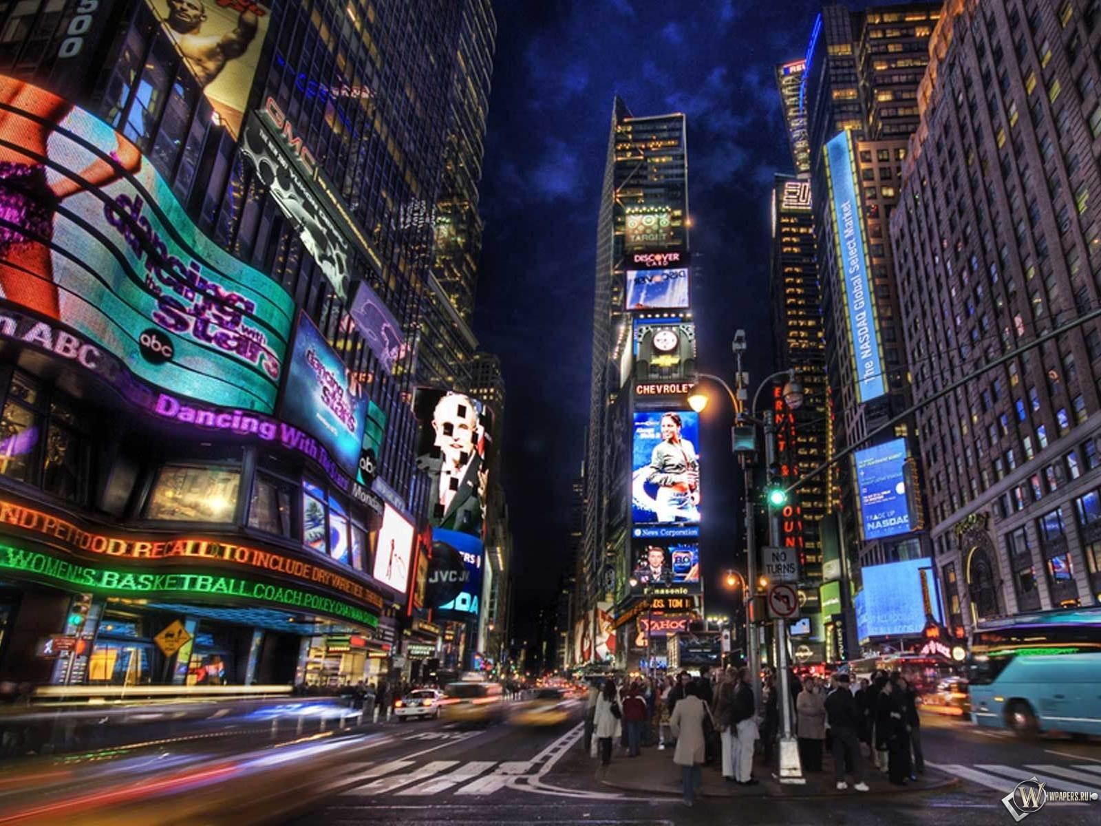 Advertising NY - Times Sqare 1600x1200